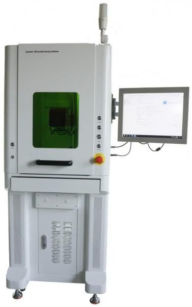 100 Watt Laser Graviermaschine - TRUMPF SPI MOPA Faserlaser für Metall und Kunststoff